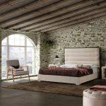 cama de matrimonio tapizada alexandra