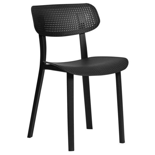 silla eleni negra