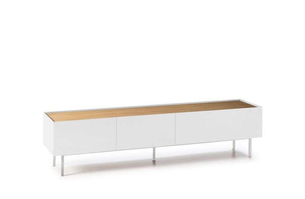 MUEBLE TV ARISTA 2C/1P BLANCO