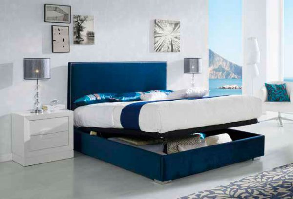 cama tapizada cristina